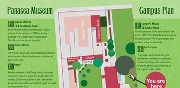 Plan your visit with our Campus Plan